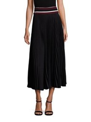 A.L.C. Accordion Pleated Skirt Black