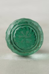 Anthropologie Lorelai Glass Knob Green