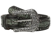 Ariat Concho Belt Black Green Women's Belts