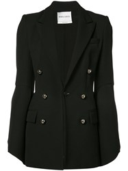Prabal Gurung Double Breasted Tailored Jacket Black