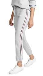 David Lerner Classic Joggers With Taping Heather Grey
