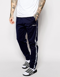 Ellesse Track Pants With Side Taping Navy