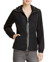 Mackage Yazmeen Leather Trimmed Jacket 100 Bloomingdale's Exclusive Black