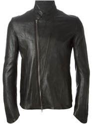 Julius Lambskin Jacket Black
