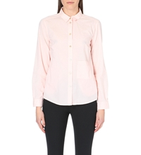 Marc By Marc Jacobs Hailee Button Front Cotton Shirt Desert Bloom