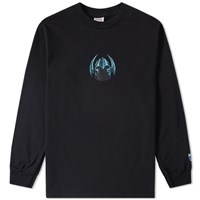 Know Wave Long Sleeve Skatewise Tee Black