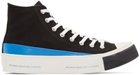 Undercover Black High Top Sneakers