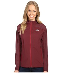 The North Face Stormy Trail Jacket Deep Garnet Red Women's Jacket Brown