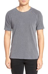 Velvet By Graham And Spencer Men's Moran Cotton Linen T Shirt Navy