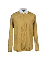 Diesel Black Gold Shirts Shirts Men Ochre