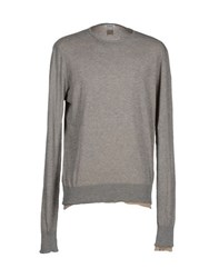 Bikkembergs Knitwear Jumpers Men Light Grey