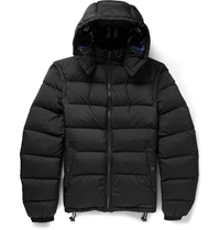 Burberry Convertible Quilted Jacket Black