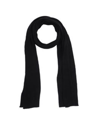 Billtornade Oblong Scarves Black