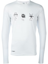 Aspesi Graphic T Shirt White