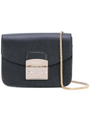 Furla Mini Metropolis Crossbody Bag Women Calf Leather One Size Black
