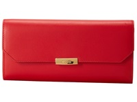 Ecco Derna Continental Wallet Chilie Red Wallet Handbags