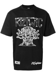 Ktz Arm Vision Print T Shirt Black