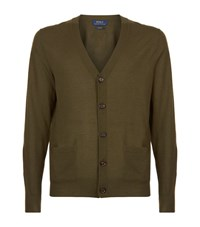 Polo Ralph Lauren Cashmere V Neck Cardigan Male