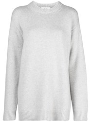 The Row Baggy Fit Pullover Grey
