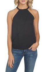 1.State Women's 1. State Asymmetrical Tank Rich Black