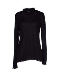 Kangra Cashmere Knitwear Turtlenecks Women Black