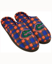 Forever Collectibles Florida Gators Flannel Slide Slippers Blue