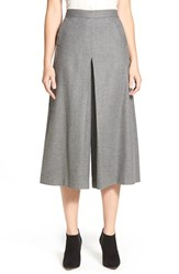 Women's Nordstrom Collection Flannel Culottes