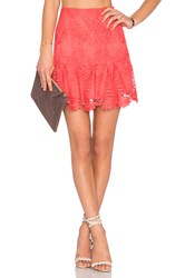 Lovers Friends Blair Skirt Orange