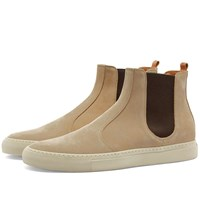 Buttero Tanino Suede Chelsea Boot Neutrals