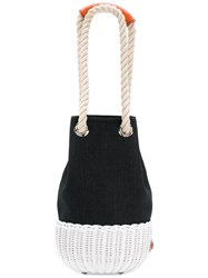 Rodo Bucket Shoulder Bag Black