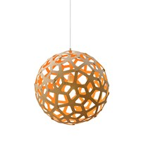 David Trubridge Coral Light Natural Orange 100Cm