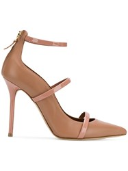 Malone Souliers Woman Robyn 100 Nude And Neutrals