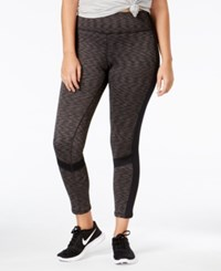 Ideology Plus Size Fleece Lined Leggings Only At Macy's Noir Space