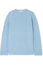 The Row Wool And Cashmere Blend Sweater Blue