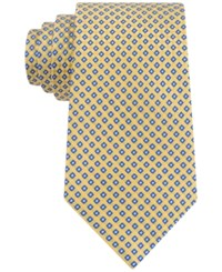 Club Room Men's Geo Pattern Classic Tie Only At Macy's Yellow