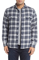 Nordstrom Men's Men's Shop Thermal Lined Plaid Flannel Shirt