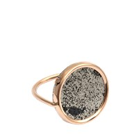 Ginette_Ny Bague Fool's Gold Disc Ring