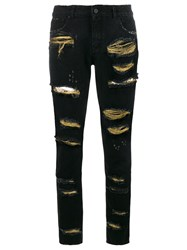 Filles A Papa 'Brooklyn' Jeans Black