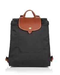 Longchamp Backpack Le Pliage Black