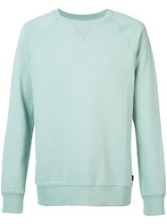 Wesc Marvin Sweatshirt Men Cotton L Green