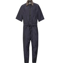 Fear Of God Belted Nylon Jumpsuit Blue