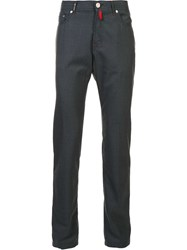 Kiton Tapered Trousers Grey