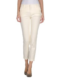 See By Chloe See By Chloe Trousers 3 4 Length Trousers Women Beige