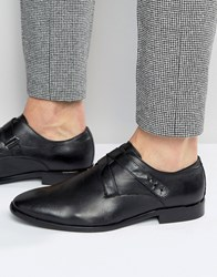 Aldo Melfort Leather Strap Monk Shoes Black