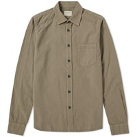 Nudie Jeans Henry Gament Dye Shirt Green