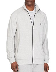 Polo Ralph Lauren Terry Track Jacket Spring Heather
