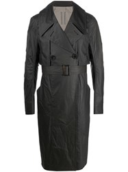 Rick Owens Double Breasted Trench Coat 60