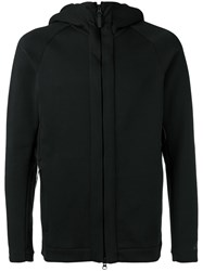Nike Zip Hooded Cardigan Black