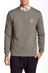 Vanishing Elephant Pullover Sweater Gray