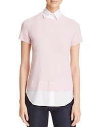 Bloomingdale's C By Layered Look Cashmere Sweater Ballet Slipper